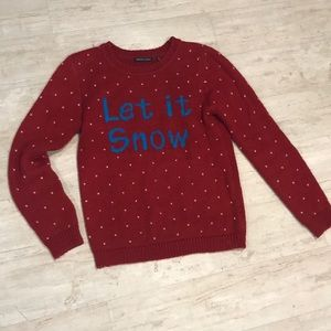 Let It Snow Holiday Sweater